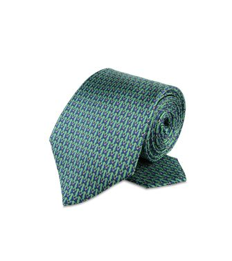 ERMENEGILDO ZEGNA: Tie Red - Blue - Grey - Light grey - Steel grey - Ivory - Deep jade - 46303535KB