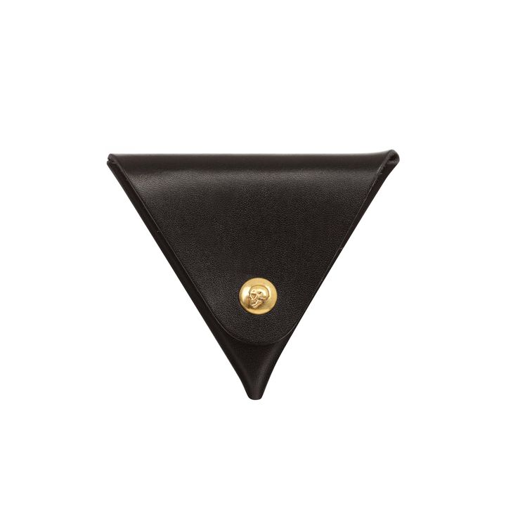 Alexander McQueen, Triangular Skull Press Coin Purse