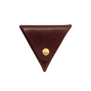 ALEXANDER MCQUEEN, Wallet, Triangular Skull Press Coin Purse