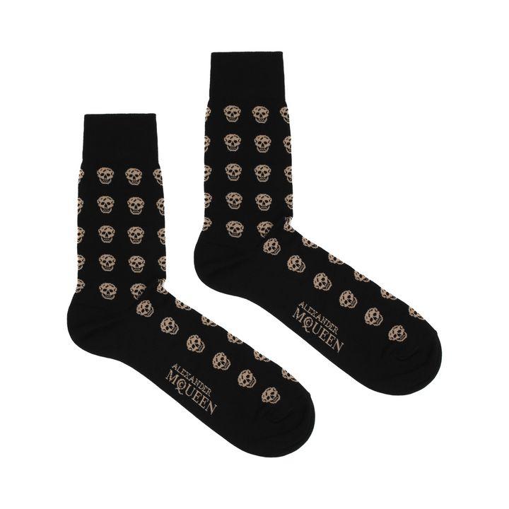Alexander McQueen, Short Skull Socks