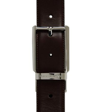 ERMENEGILDO ZEGNA: Belt Black - Dark brown - 46304201EI