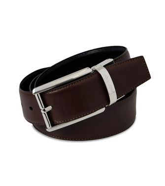 ERMENEGILDO ZEGNA: Belt Dark brown - 46304201EI