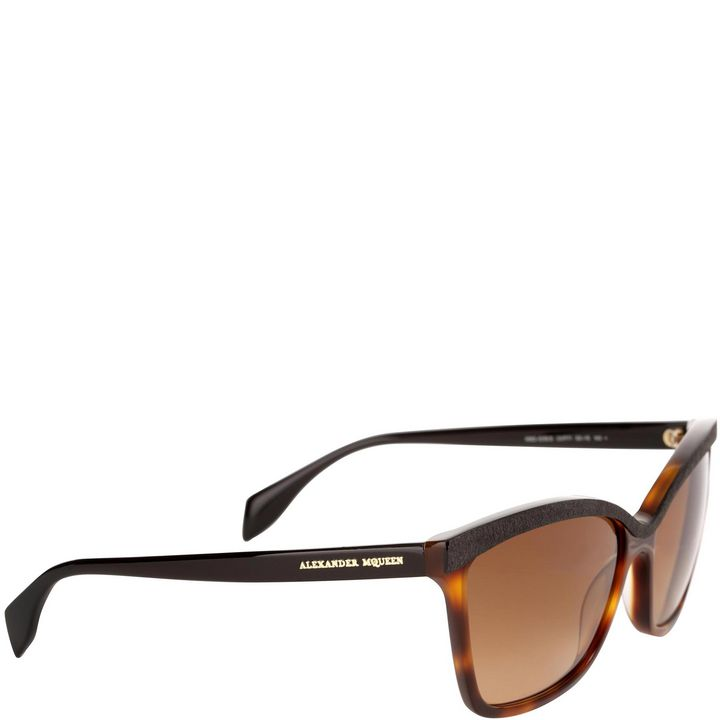 Alexander McQueen, Occhiali da Sole D-Frame in Acetato