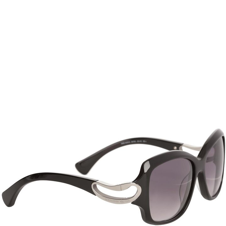 Alexander McQueen, Square Framed Soft Curve Sunglasses