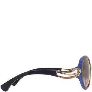 ALEXANDER MCQUEEN, Sunglasses, Round Framed Soft Curve Sunglasses