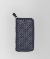 BOTTEGA VENETA - Wallets, Tourmaline Intrecciato Nappa Zip Around Wallet