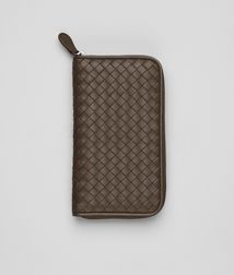 BOTTEGA VENETA - Wallets, Junior Intrecciato Nappa Zip Around Wallet