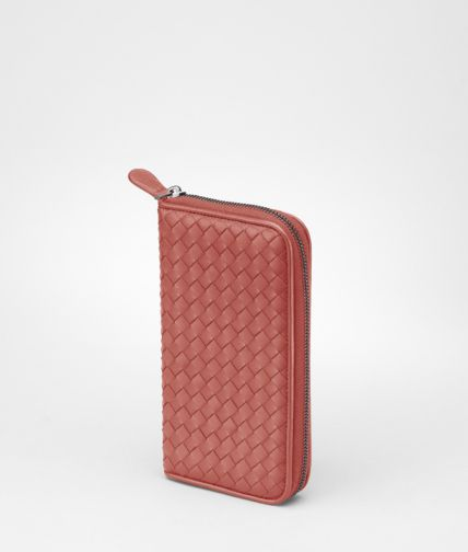 BOTTEGA VENETA - Intrecciato Nappa Zip Around Wallet