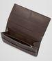BOTTEGA VENETA Ebano Intrecciato VN Wallet Continental Wallet U ap