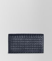 CONTINENTAL WALLET IN LIGHT TOURMALINE INTRECCIATO VN