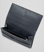 Ardoise Intrecciato VN Continental Wallet