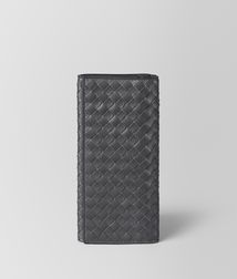 BOTTEGA VENETA - Wallets, Ardoise Intrecciato VN Continental Wallet