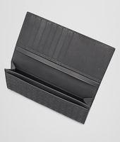 Continental Wallet aus VN-Leder Intrecciato Ardoise