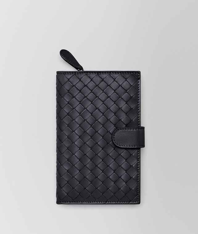 BOTTEGA VENETA CONTINENTAL WALLET IN TOURMALINE INTRECCIATO NAPPA Continental Wallet D fp
