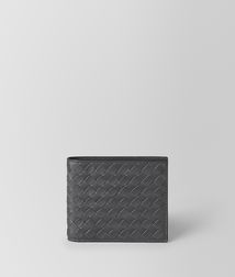 BOTTEGA VENETA - Wallets, Ardoise Intrecciato VN Wallet