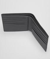 Portemonnaie aus VN-Leder Intrecciato Ardoise