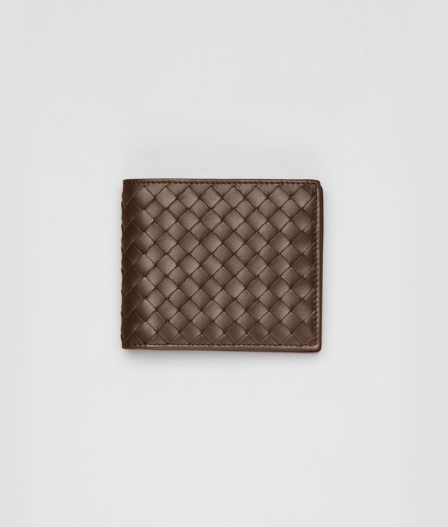 Portemonnaie aus VN-Leder Intrecciato Edoardo