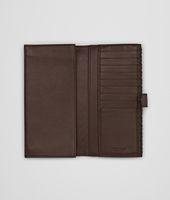 Ebano Intrecciato Nappa Continental Wallet