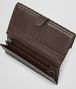 BOTTEGA VENETA Ebano Intrecciato Nappa Continental Wallet Continental Wallet D ap