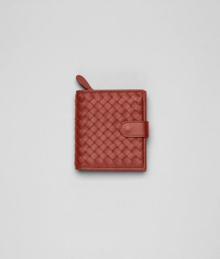 BOTTEGA VENETA - Intrecciato Nappa French Flap Wallet