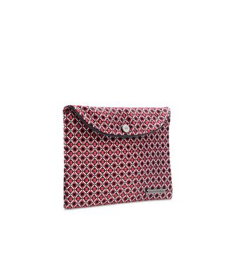 ERMENEGILDO ZEGNA: Silk accessory Red - 46305588JO