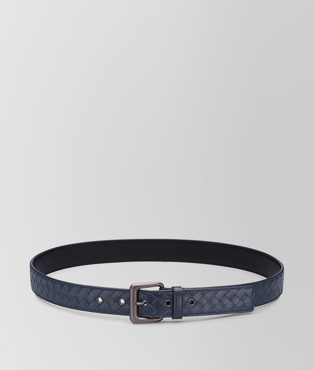 BOTTEGA VENETA BELT IN LIGHT TOURMALINE INTRECCIATO VN Belt U fp