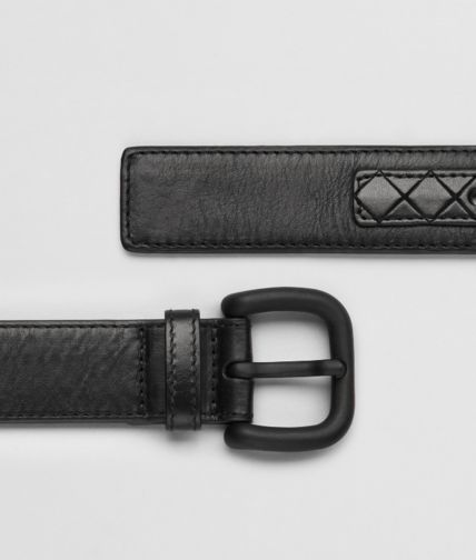 BOTTEGA VENETA - Light Calf Intreccio Scolpito Belt