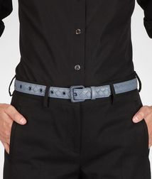 BOTTEGA VENETA - Accessories, Krim Intrecciato Nappa Belt