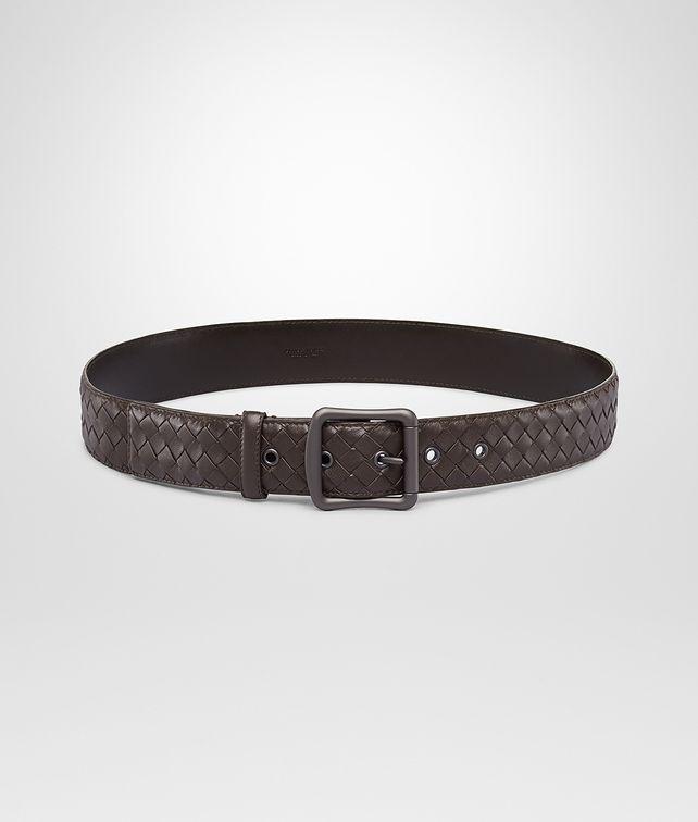 Ebano Intrecciato Nappa Belt