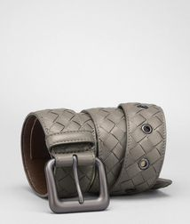 BOTTEGA VENETA - Accessories, Shadow Intrecciato Nappa Belt