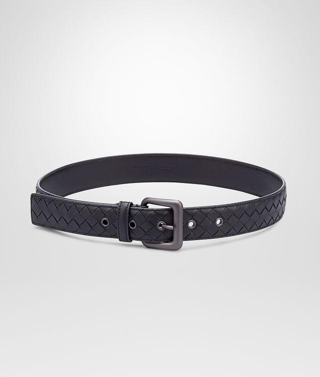 Nero Intrecciato Nappa Belt