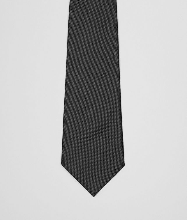 TIE IN NERO SILK
