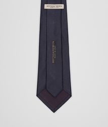 BOTTEGA VENETA - Accessories, Midnight Blue Silk Tie