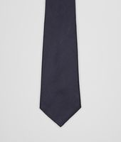 Midnight Blue Silk Tie