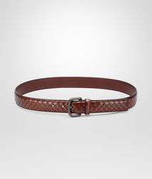 BOTTEGA VENETA - Accessories, Ebano Intreccio Scolpito Belt