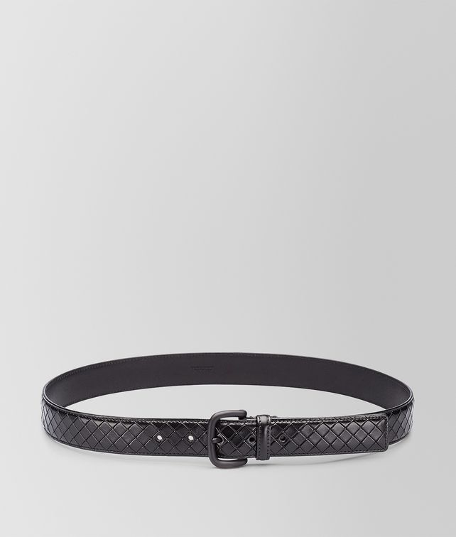 BOTTEGA VENETA BELT IN NERO CALF Belt U fp