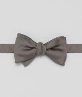 Graphite Silk Bow Tie
