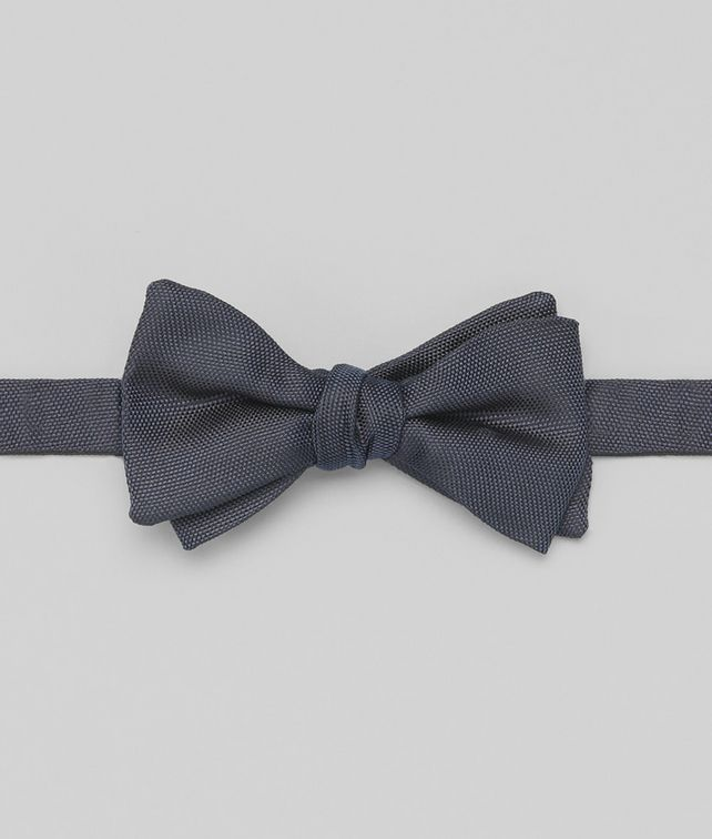 BOTTEGA VENETA Navy Silk Bow Tie Tie or bow tie U fp