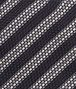 BOTTEGA VENETA Black Grey Silk Tie Tie or bow tie U ap