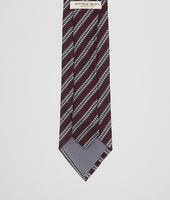 Amaranth Dark Grey Silk Tie