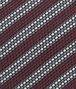 BOTTEGA VENETA Amaranth Dark Grey Silk Tie Tie or bow tie U ap
