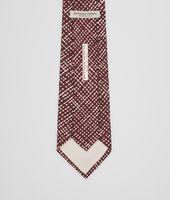 Amaranth Beige Silk Tie