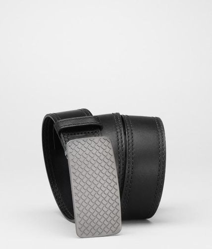 BOTTEGA VENETA - Waxed Leather Belt