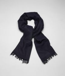 BOTTEGA VENETA - Accessories, Midnight Blue Cashmere Silk Scarf