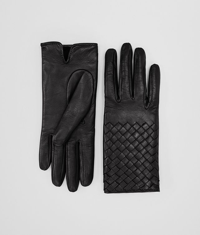 GLOVE IN NERO NAPPA