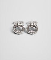 Intrecciato Antique Silver Cufflinks