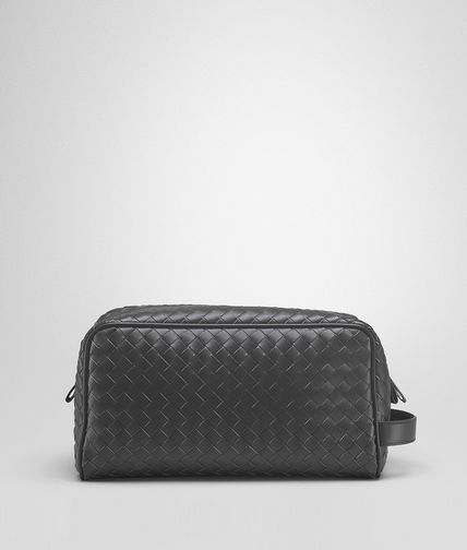 BOTTEGA VENETA - Ardoise Intrecciato VN Toiletry Case