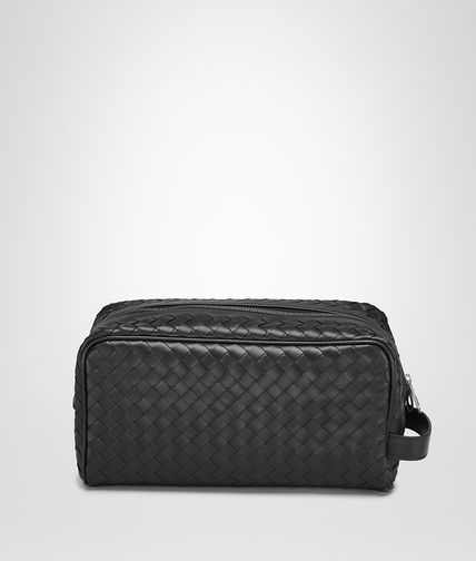 BOTTEGA VENETA - Nero Intrecciato VN Toiletry Case