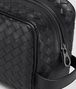 BOTTEGA VENETA TOILETRY CASE IN NERO INTRECCIATO VN Small bag U ep