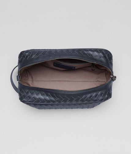 BOTTEGA VENETA - Light Tourmaline Intrecciato VN Toiletry Case